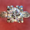 .69ct Transitional Cut Diamond Solitaire 17