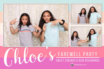 CHLOE'S FAREWELL PARTY - MAY 25, 2018