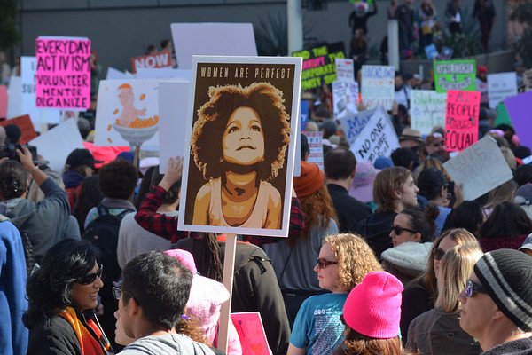 Women's March LA - Jan 21, 2017