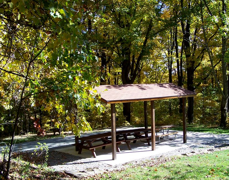 Buttermilk Falls Shelter
