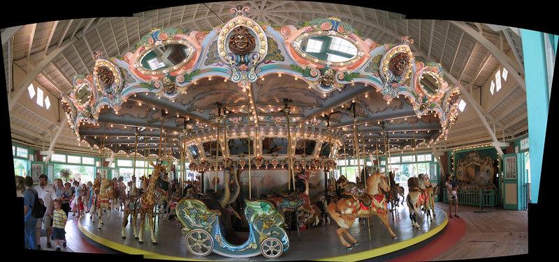 Carousel at Glen Echo Park. Maryland