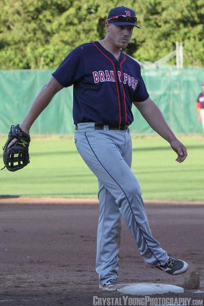 Brantford Red Sox at London Majors June 21, 2014
