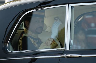 Der 65. Geburtstag des Sultans in Bandar