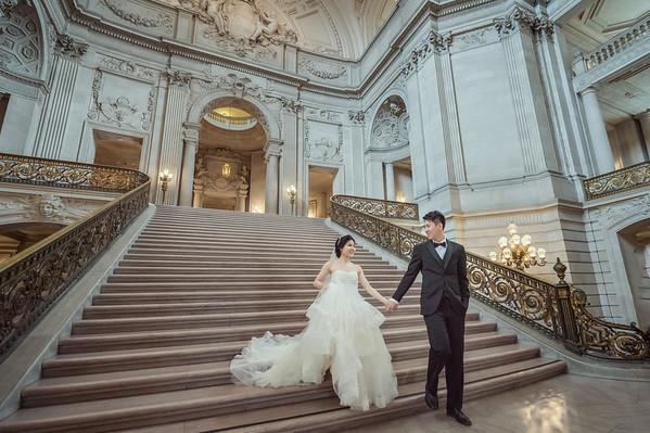 Pre-wedding-舊金山