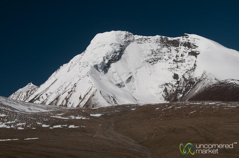 Kang Yaze Peak Covered in Snow - Markha Valley Trek, Ladakh
