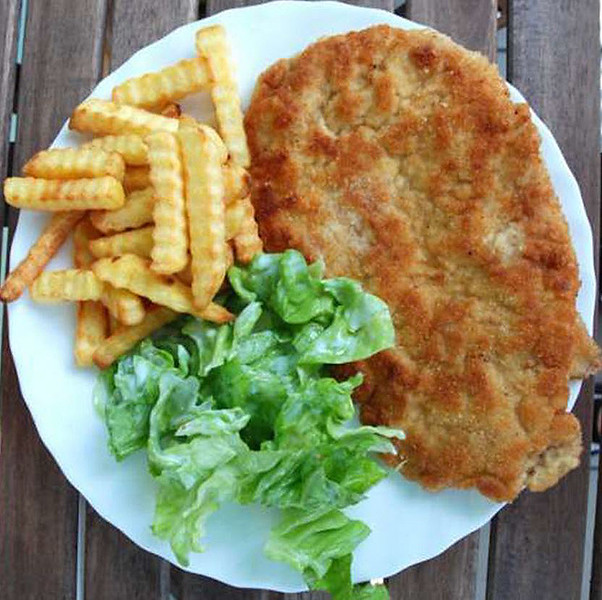 Polish Breaded Pork Chops