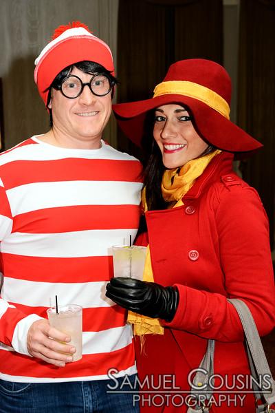 Waldo & Carmen Sandiego - Ghoulwill Ball 2014