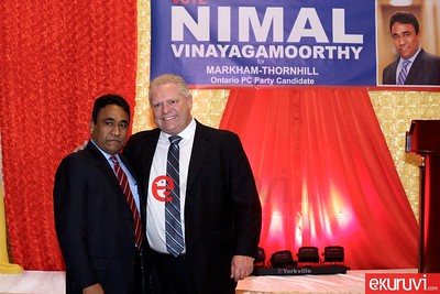 Nimal at Markham-Thornhill Rally    Dec 12,2016