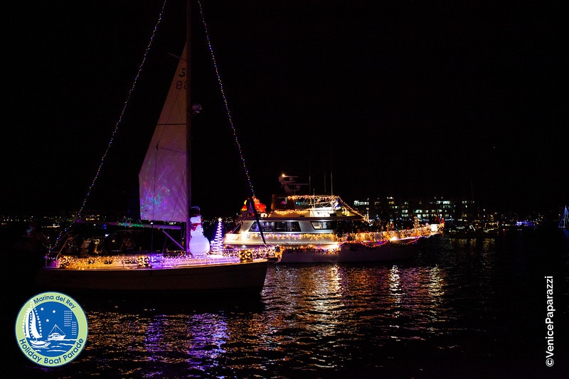 Marina del Rey Holiday Boat Parade. mdrboatparade.org.  Photo by Venice Paparazzi