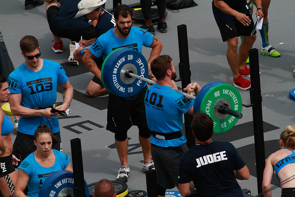 CROSSFIT GAMES 2012 FRI PM