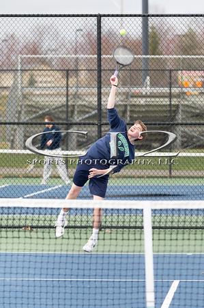 4-2-2018 Woodgrove at Heritage Boys Tennis