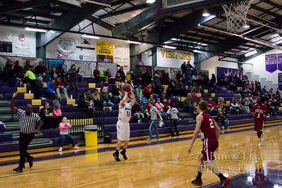 Varsity Boys Basketball: CCS vs. Wynnewood, January 30