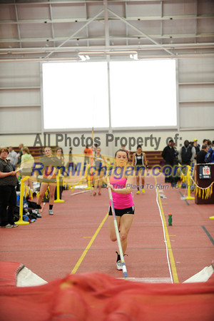 Girl's Pole Vault, Gallery 1 (ike)  - 2013 MITS State Meet
