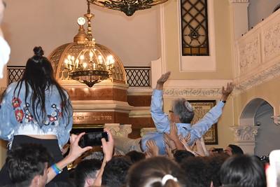 Havdallah at Nozyk Synagogue