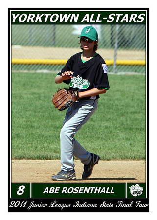 2011 Junior League State Final Four Player Cards