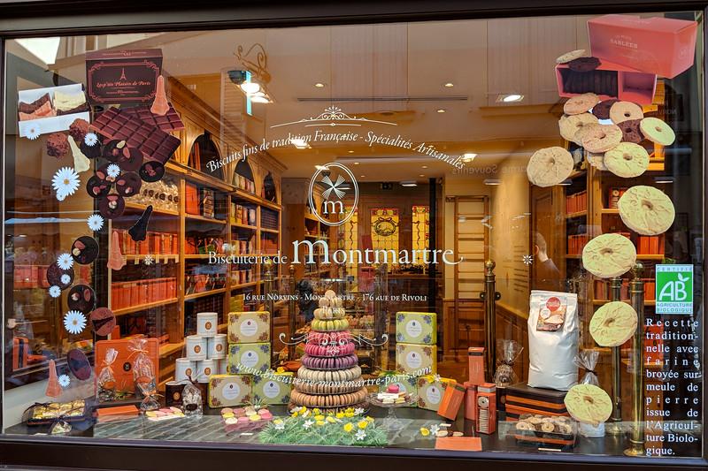 Famous Paris Macaroon shop