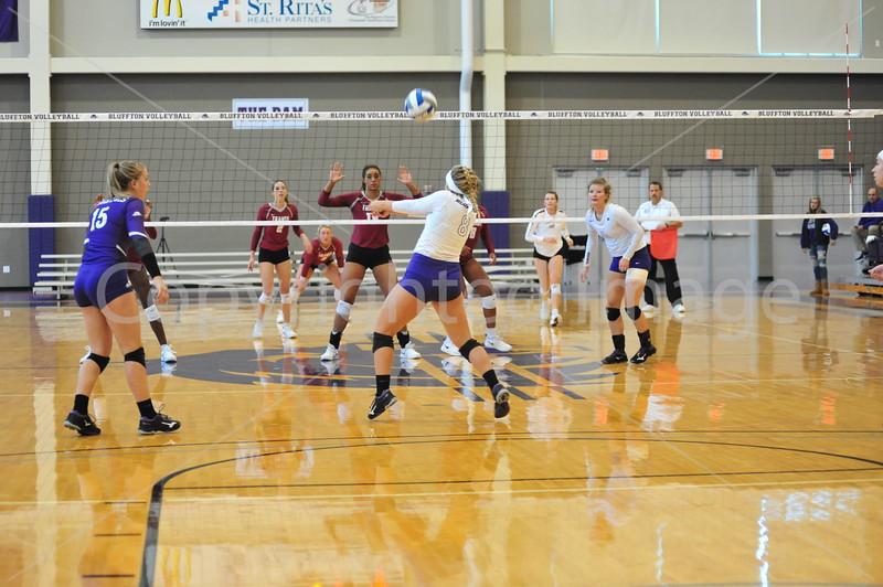 Bluffton Volleyball 101418 Transy