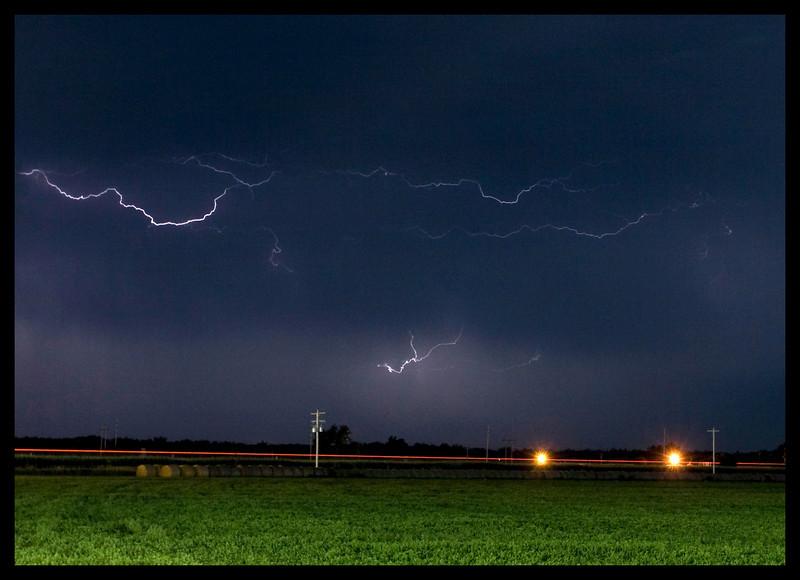 Nebraska Thunderstorm along I-80 near Lexington, NE