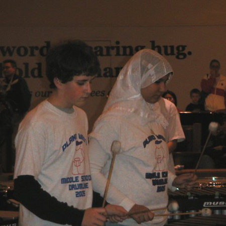 Middle School Drumline - 13 Dec 2005