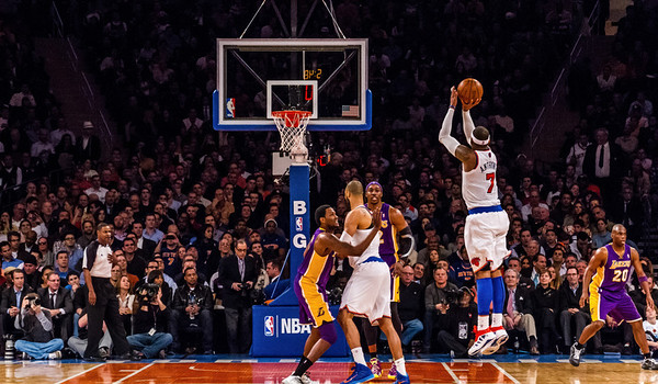 2012-12-13 Knicks v Lakers