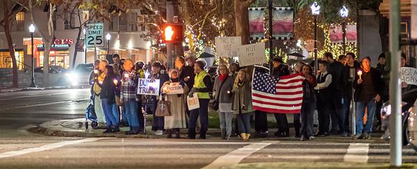 Dec 17 Impeachment Eve Rally - Mountain View