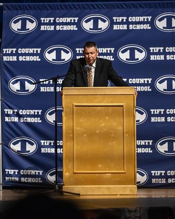2019 Tift County Football banquet