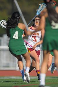 Harker Girl's Varsity Lacrosse vs. Menlo-Atherton 2015-03-17