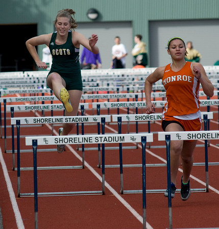 Shorecrest High School Track, March 18, 2010