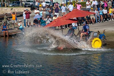 Kinetic Sculpture Race - Ventura  10-18-2014