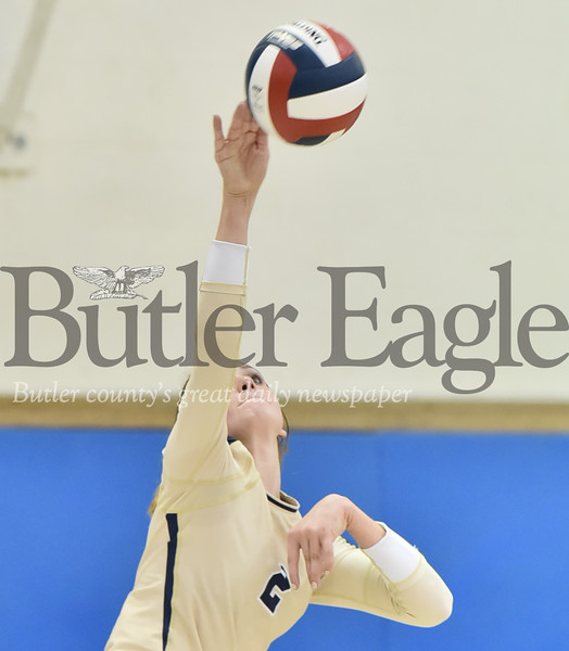 10947 Butler vs Seneca Valley WPIAL 4A Girls Volleyball at Butler High School
