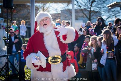Santa's arrival 2018