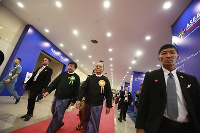 ASEAN Submit 2014 in Myanmar