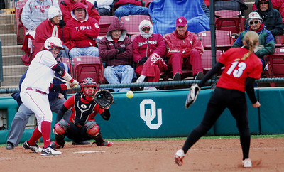 OU softball v Louisville