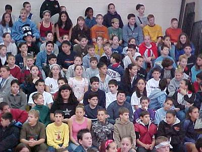 Seekonk Middle School... November 21, 2001
