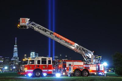 September 11, 2017 Tribute Of Light & Apparatus