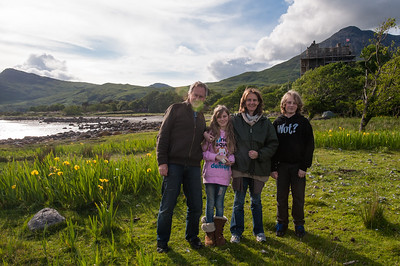 Family at Lochbuie and Duart