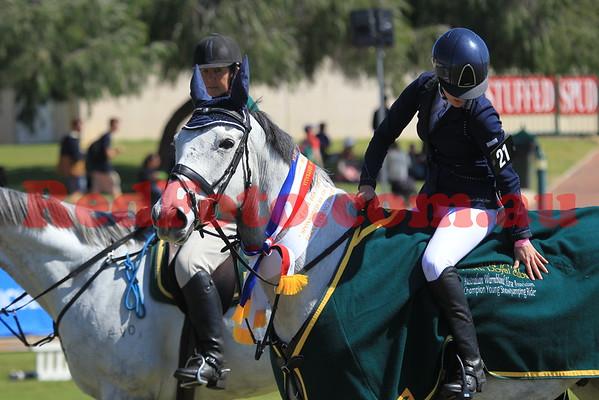 2014 09 30 Perth Royal Show ShowJumping Champion Young ShowJumping Rider