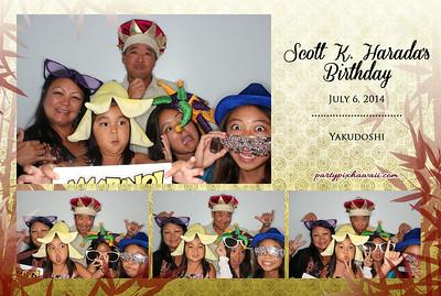 Scott's Yakudoshi (Luxury Photo Pod)