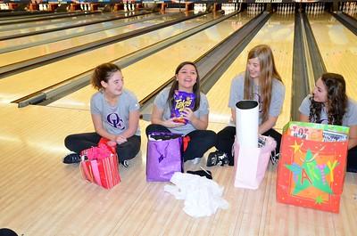 OE Girls Bowling Vs Oswego (Senior Night) 2015
