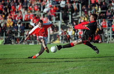 Micheal McVeigh Keeper Down & Stephen McDonnell