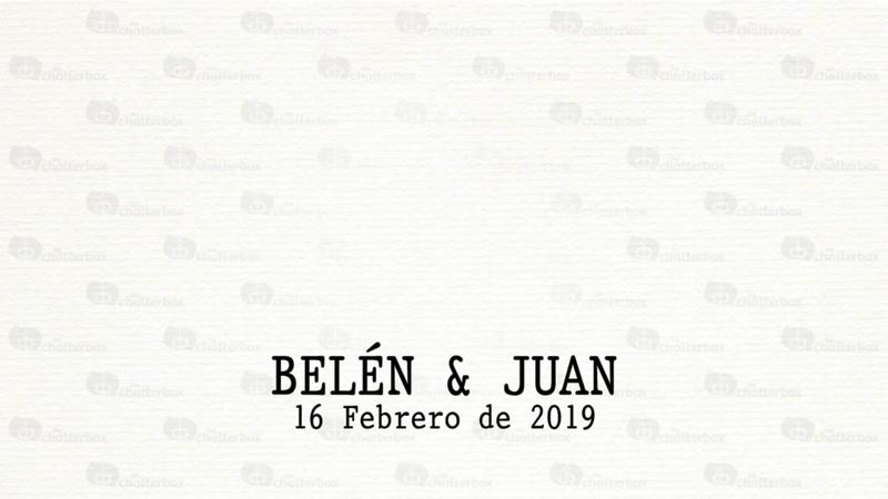 Belén y Juan 16 Febrero