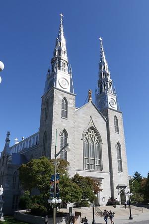 Notre Dame Cathedral Basilica, Ottawa - 16 September 2019