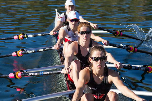 Canadian National Rowing Team 2018 - W-4x