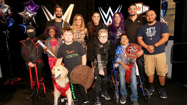 Roman Reigns - Digitals / Childrens Health Connors Cure (Sept 17, 2018)