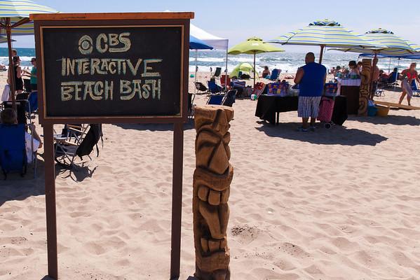 CBS Interactive Beach Party