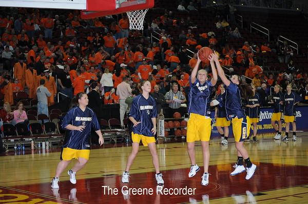 Girls State Basketball vs Springville