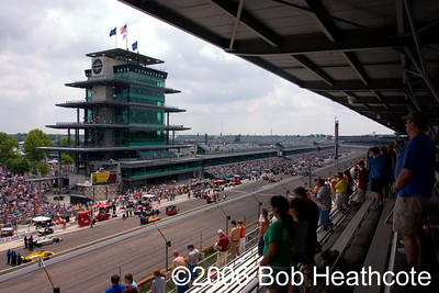 2006 Indianapolis 500 mile race Friday