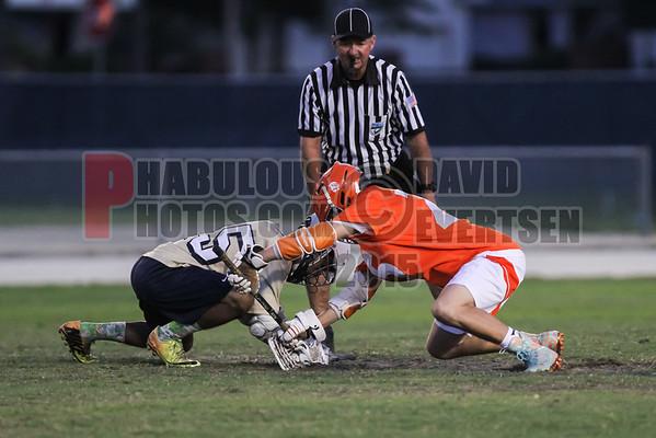 Boone Braves @ University Cougars  Boys Varsity Lacrosse  - 2015