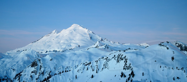 Mount Baker in the early morning. Mt. Baker-Snoqualmie National Recreational Area, WA