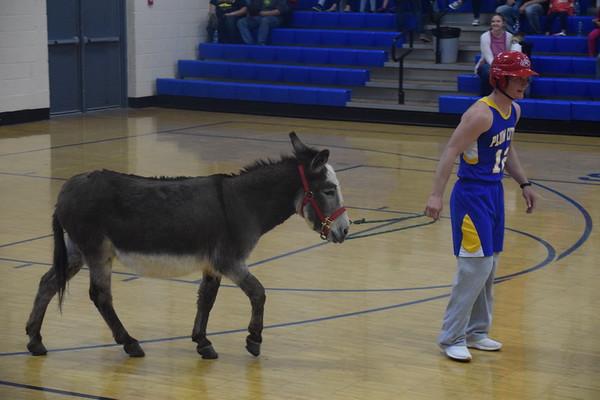 Plum City HS donkey basketball , April 26th, 2019